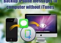 Backup-iPhone-messages-to-computer-without-iTunes