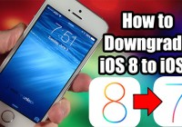 remove ios 8 and get back ios 7