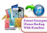 extract encrypted itunes backup with ifonebox