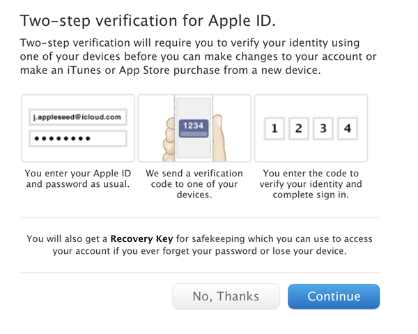 two factor verification