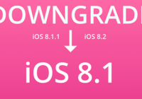 Downgrade-iOS-8.1