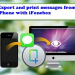 How To Export And Print Text Messages On iPhone?
