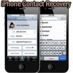 How To Recover My Contacts After iPhone Set Up As New Phone ?