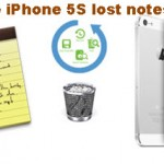 Is There A Way To Get Lost Notes Back On iPhone 5S?