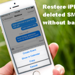 How To Restore iPhone Deleted Text Messages Without Backup?