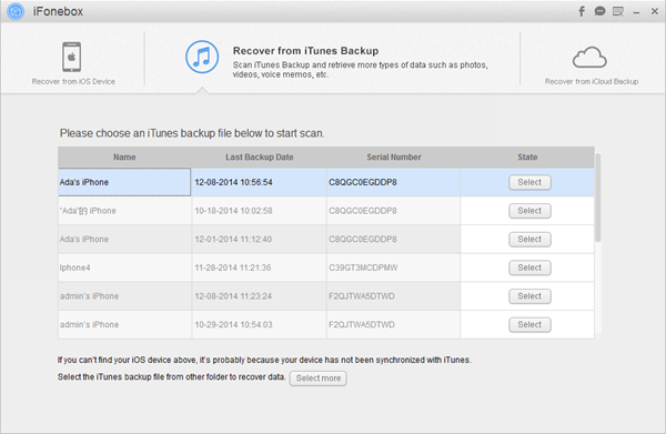 iFonebox-iTunes