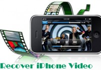 recover iphone video