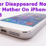 Recover Disappeared Notes For My Mother On iPhone 5S, iOS 8.3