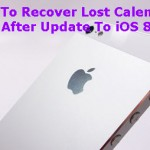 How To Recover Lost Calendar Lists After Update To iOS 8.3?