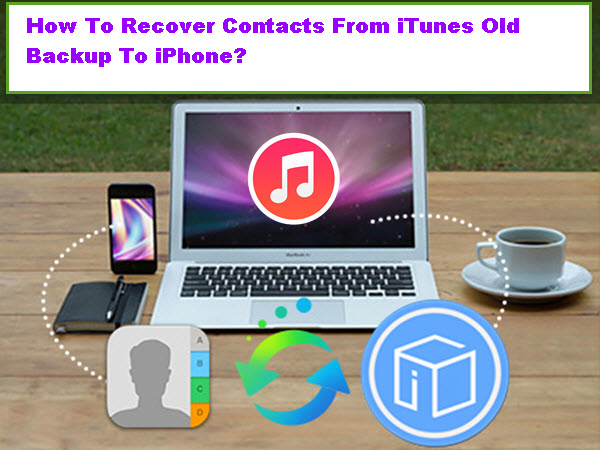 how to take a backup of contacts from iphone