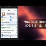 Steps To Jailbreak iOS 8.3, iOS 8.2 And iOS 8.1.3