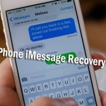 Recover Deleted iMessages On iPhone 5