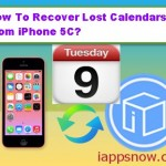 How To Recover Lost Calendars From iPhone 5C?