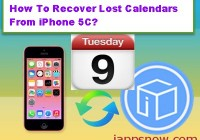 how-to-recover-lost-calendars-from-iphone-5C