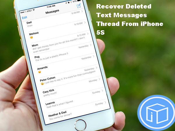 How To Recover A Deleted Text Thread Iphone