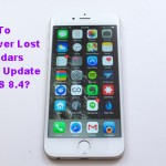 How To Recover Lost Calendars When Update To iOS 8.4?