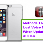 Methods To Restore Lost Voice Memos When Update To iOS 8.4