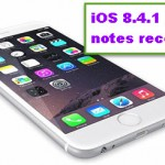 All My Notes Disappeared On iOS 8.4.1, Please Help