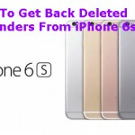 How To Get Back Deleted Reminders From iPhone 6s?