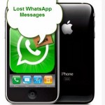 Recover Deleted WhatsApp Messages From iPhone By Mistake