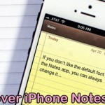 Is There A way To Recover Trashed Notes On An iPhone 6?