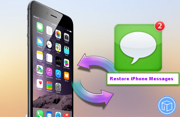 restore messages on iPhone