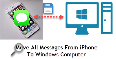 export and save all messages from iphone to pc