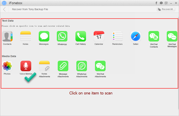 win-ifonebox-itunes-backup-voice-memo