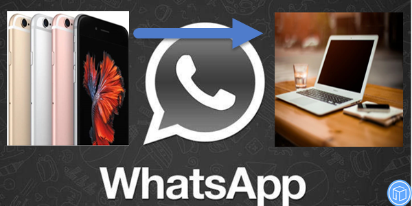 save whatsapp messages from iphone