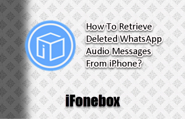 recover iphone lost whatsapp audio messages