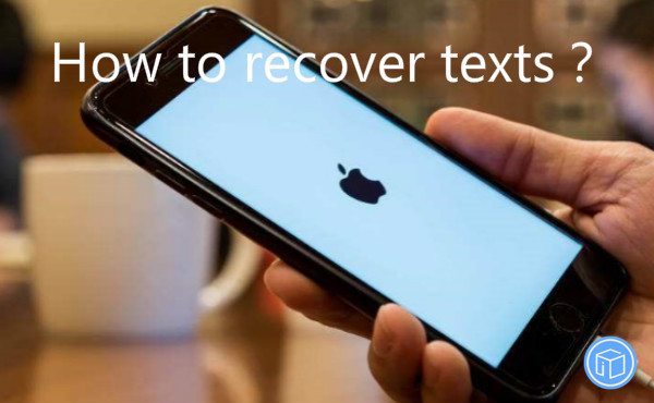 restore texts when iphone got stuck during an update to ios 11