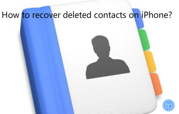 restore missing contacts on iphone