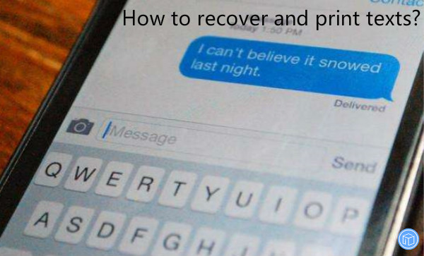 restore and download text messages
