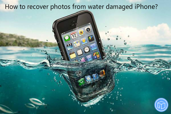 restore pictures if iphone falls into river