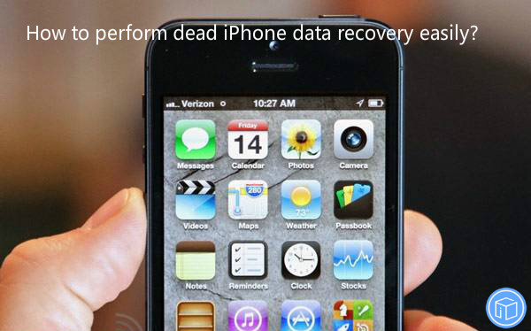 handle dead iphone data restoration efficiently