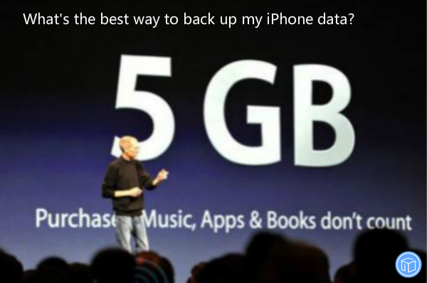 the most efficient way to back up iphone data