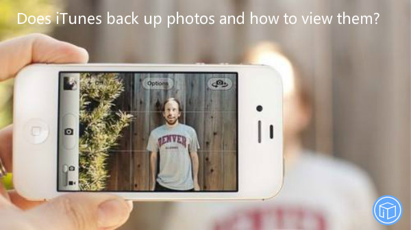 check pictures in itunes back file