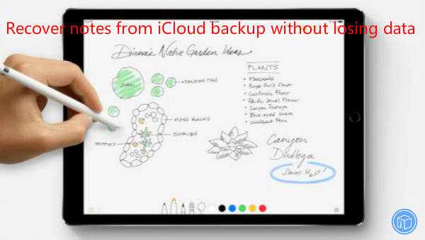 extract notes from icloud backup without any data loss