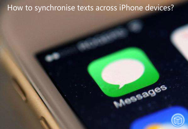 transfer texts between iphone devices