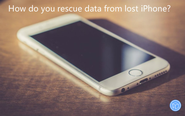 get data back from missing iphone