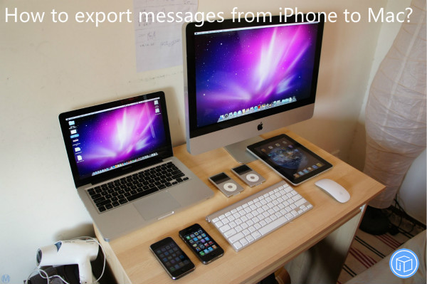 transfer texts from iphone to mac