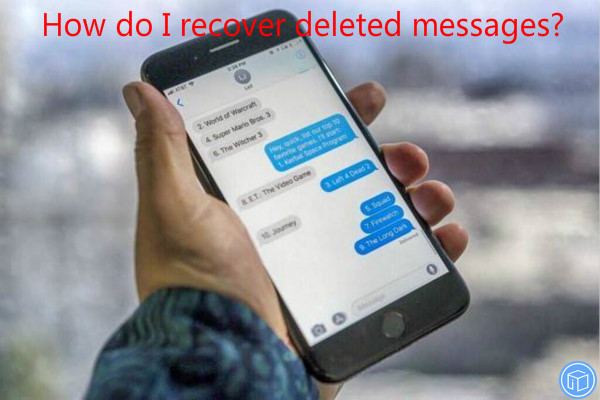restore erased messages