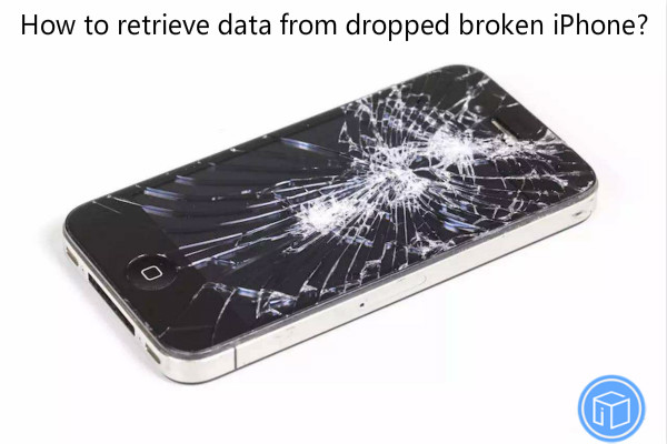 restore documents from non-bootable iphone