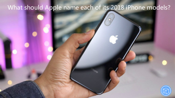 the name of each iphone models in 2018